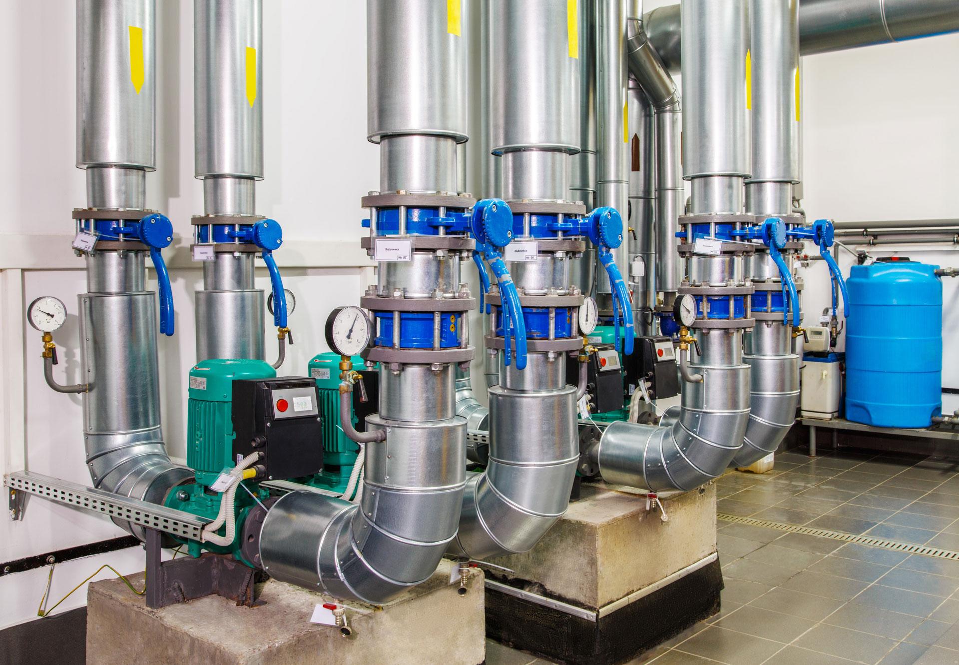 Мониторинг трубовопроводов, подсчет расхода воды